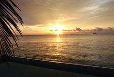 Восход солнца в México стоковая фотография