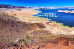 воссоздание соотечественника mead озера зоны стоковые фото