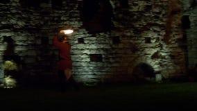 Воюя замок шпаги огня
