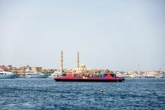 Гавань Hurghada в Египте стоковое изображение rf