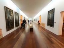 Галерея музея стоковая фотография