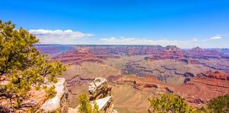Гранд-каньон, южная оправа, Аризона, Соединенные Штаты Америки стоковое изображение