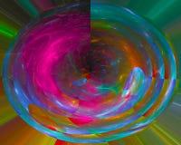 График энергии абстрактной формы элегантности фрактали творческий, современная фантазия, красивое движение дизайна, свирль, сияющ стоковое изображение