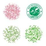 Группы в составе молодые microgreens ростков бесплатная иллюстрация