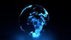 Голографическая земля Европа Африка Ближний Восток бесплатная иллюстрация