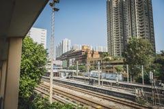 Гонконг, ноябрь 2018 - красивый город стоковая фотография rf