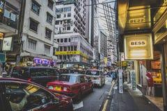 Гонконг, ноябрь 2018 - красивый город стоковые изображения
