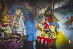 Гонконг, ноябрь 2018 - 10 тысяч человек жирное Sze монастыря Buddhas стоковое фото rf