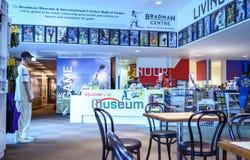 Господин Дональд Bradman AC Музей стоковые фото