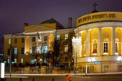 Город Москва Церковь святого мученика Татьяны, государственного университета Москвы названного после m V Lomonosov, институт Азии стоковая фотография
