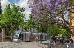 Городская жизнь в Севилье, Испании стоковое фото