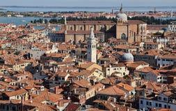 Городской пейзаж Венеции, Италии стоковые фотографии rf