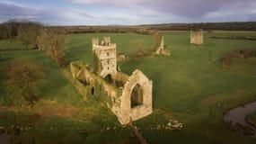 Город Clonmines средневековый Co Wexford Ирландия стоковые изображения rf