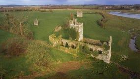 Город Clonmines средневековый Co Wexford Ирландия стоковая фотография rf