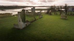 Город Clonmines средневековый Co Wexford Ирландия стоковые изображения