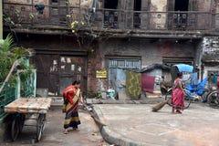 Ежедневная жизнь города Kolkata стоковое фото rf