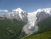 Ледник в Грузии Stock Photo
