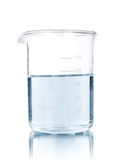 �st-tube with blue liquid Stock Photo