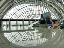 Железнодорожный вокзал Тяньцзиня западный, Китай стоковое фото rf