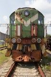 Заброшенный локомотив в Припяти Royalty Free Stock Photos