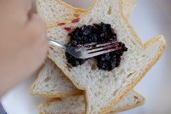 завтрак хлеба стоковые фотографии rf