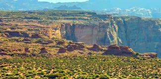 Загиб подковы в национальном парке гранд-каньона, Аризоне, Соединенных Штатах Америки стоковая фотография