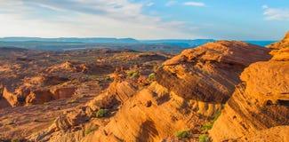 Загиб подковы в национальном парке гранд-каньона, Аризоне, Соединенных Штатах Америки стоковые изображения