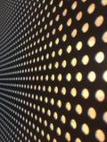 Зазор космоса аранжирован в длинной строке стоковые фото