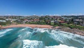Залив Thompsons, утес Shakas, Kwazulu Natal, Южная Африка стоковое фото rf