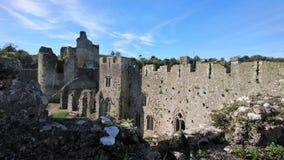 Замок Chepstow стоковое изображение