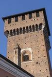 "Замок Sant ""Angelo Lodigiano, Италии стоковое фото rf"