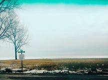 Замороженное большее озеро стоковое изображение rf