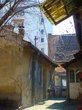 За зданиями 2 стоковое изображение