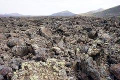 Земля вулкана стоковое изображение