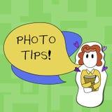 Знак текста показывая подсказки фото Схематические предложения фото для того чтобы прислушаться хорошие изображений для большой ф бесплатная иллюстрация