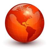 Значок глобуса 3D земли бесплатная иллюстрация