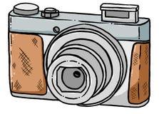 Значок камеры, стиль шаржа стоковая фотография rf