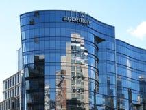 Здание Accenture в Ballston Вирджинии стоковые изображения rf