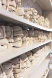 Зубоврачебные модели гипса челюстей в офисе дантиста стоковое фото