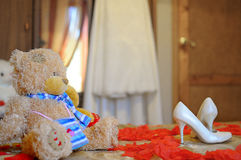 Игрушки. The photo was taken waiting for the groom at the wedding Stock Image