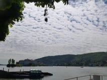 Известное итальянское назначение перемещения, большое lago Maggiore озера стоковая фотография rf