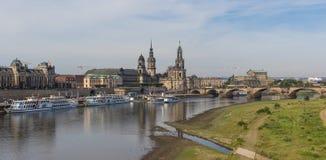 Изумительный городок Дрездена старый стоковые изображения