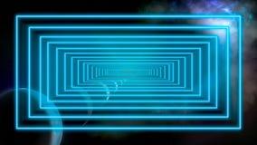 Изображение концепции перемещения космического пространства и времени стоковое фото