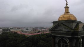 Исаакиевский собор. View of a wonderful part of St. Petersburg royalty free stock images