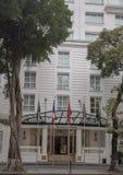 Историческое сказание Metropole Sofitel, пятизвездочный роскошный отель раскрыло в 1901, Ханой, Вьетнам стоковое фото