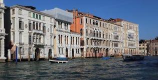 Историческое Palazzos в Венеции, Италии стоковое изображение
