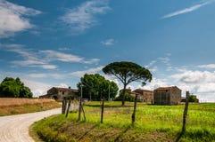 Италия landscapes Тоскана стоковое изображение rf