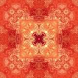 Калейдоскоп предпосылки картины абстрактный красный декоративно иллюстрация штока
