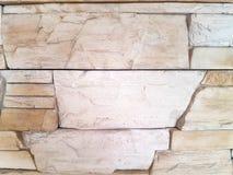 Камень Брауна с отказами на поверхности, текстуре стоковое изображение