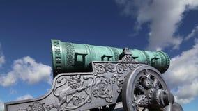 Карамболь царя, Москва Кремль, Россия акции видеоматериалы